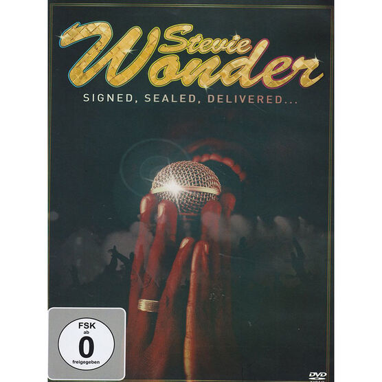 Stevie Wonder - Signed, Sealed, Delivered - DVD