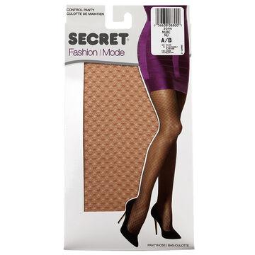 Secret Fashion Pantyhose - Nude Lace - A/B