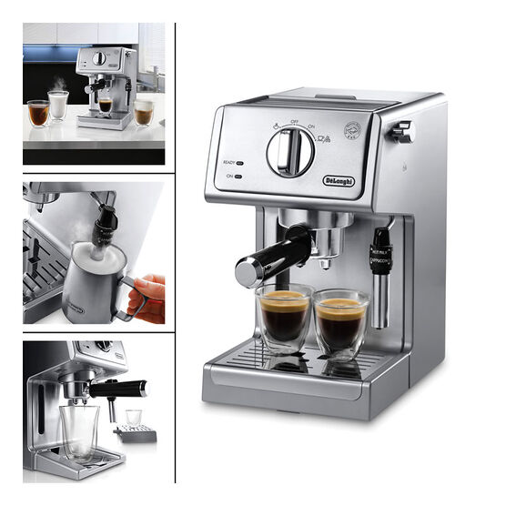 DeLonghi Pump Espresso Maker - Stainless Steel - ECP3630 London Drugs