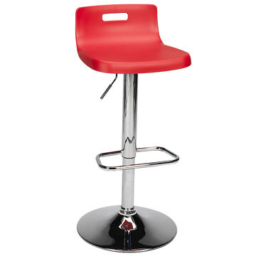 London Drugs Janine Bar Stool - Red