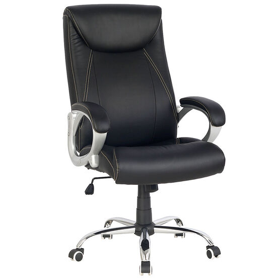 London Drugs Highback Office Chair - Black