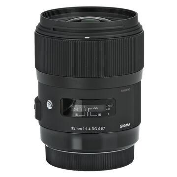 Sigma A 35mm f/1.4 DG Lens for Canon - A35DGC