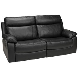 London Drugs Leather Sofa - Black