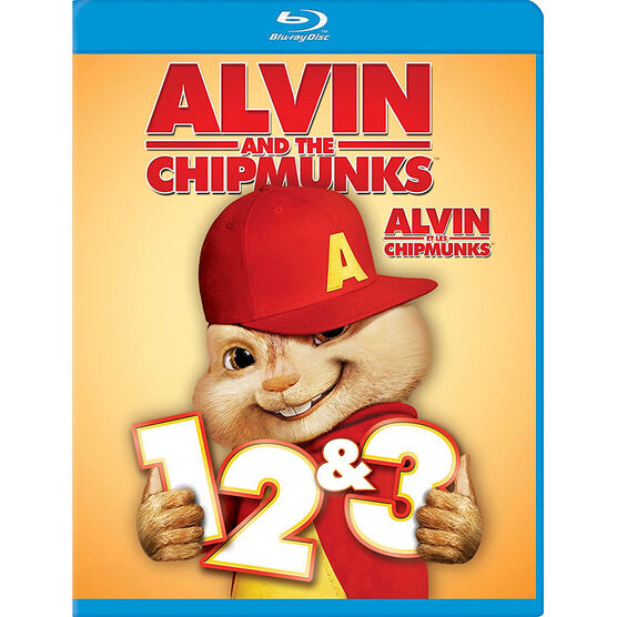 Alvin and the Chipmunks 1-3 - Blu-ray