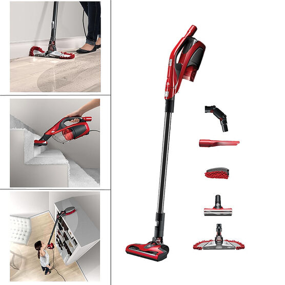 Dirt Devil 360 Degree Reach Bagless Stick Vacuum - Red/Black - SD12520CA