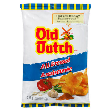 Old Dutch All Dressed Chips - 66g