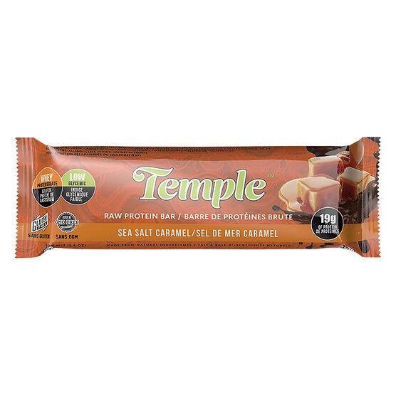 Temple Raw Protein Bar - Sea Salt Caramel - 70g