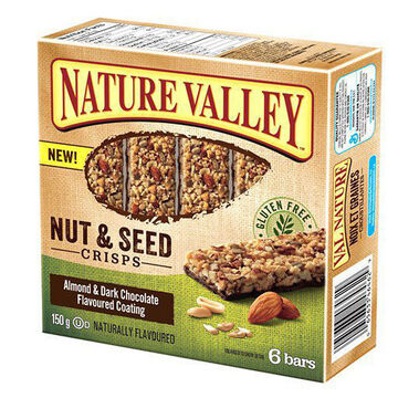 Nature Valley Nut Crisp - Almond & Chocolate - 6 pack