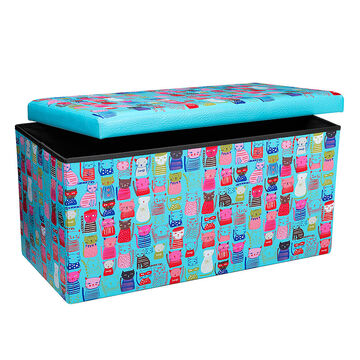 London Drugs Folding Storage Box - Cats