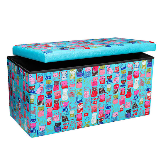 London Drugs Folding Storage Box - Cats