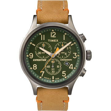 Timex Expedition Scout Chronograph - Tan/Green - TW4B04400ZA