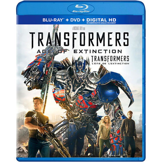 Transformers: Age of Extinction - Blu-ray + DVD + Digital HD