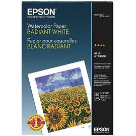 Epson Watercolour Paper Radiant White - 13 x 19 - 20 Sheets