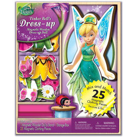 Disney Fairy Magnetic Dress-up Doll - Assorted