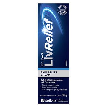LivRelief Pain Relief Cream - 50g