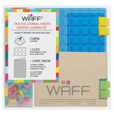 WAFF Mini Combo Journal - Blue