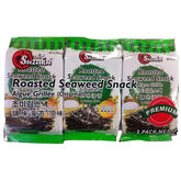 Suzaku Roasted Seaweed Snack - 3x4g
