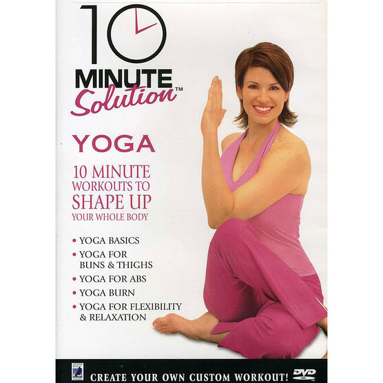 10 Minute Solution: Yoga - DVD