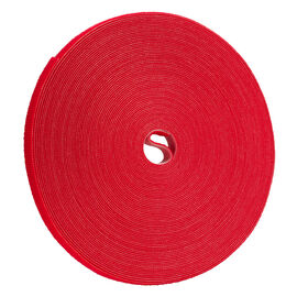 Certified Data 1/2-inch Velcro Wrap - 75 feet - Red