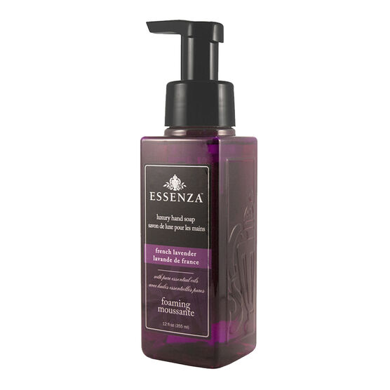 Essenza Luxury Foaming Hand Soap - French Lavender - 355ml