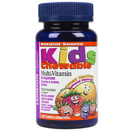 London Naturals Kids Chewable Multi-Vitamin - 100's