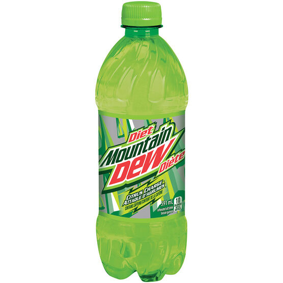Mountain Dew - Citrus Diet - 591 ml
