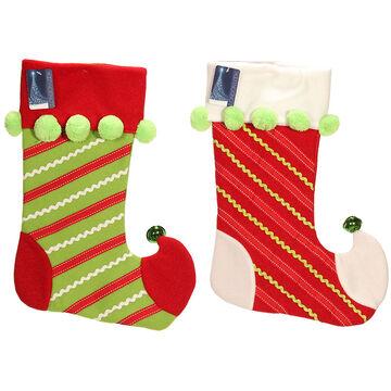London Look Jingle Jolly Stocking - 20inch