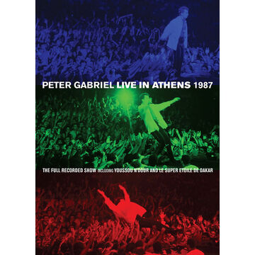 Peter Gabriel: Live In Athens 1987 - DVD