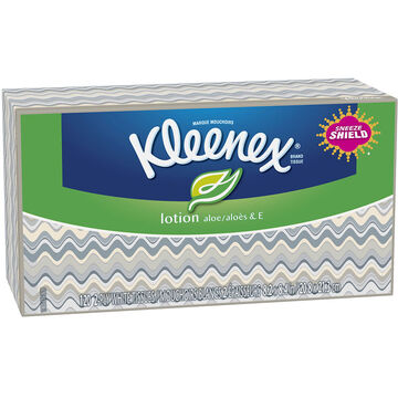 Kleenex Tissues with Lotion - 120's