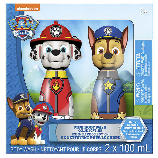 Paw Patrol Mini Body Wash Collector's Set - Berry - 2 x 100ml