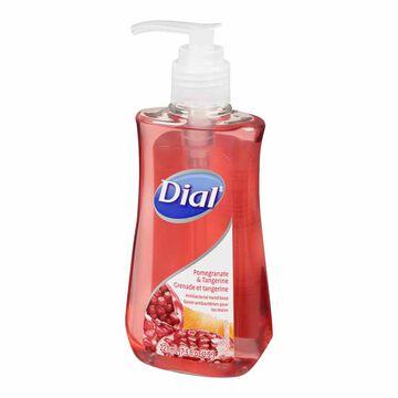 Dial Antibacterial Liquid Hand Soap - Pomegranate & Tangerine - 221ml