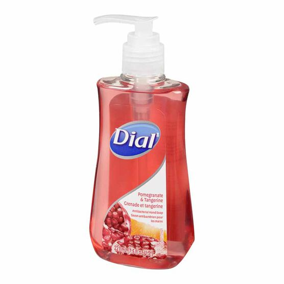 Dial Antibacterial Liquid Hand Soap - Pomegranate & Tangerine - 221ml