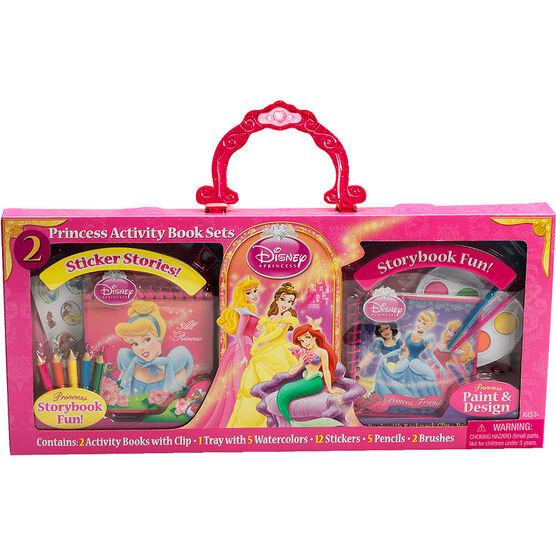 Disney Princess Activity Book Sets - 2 pack