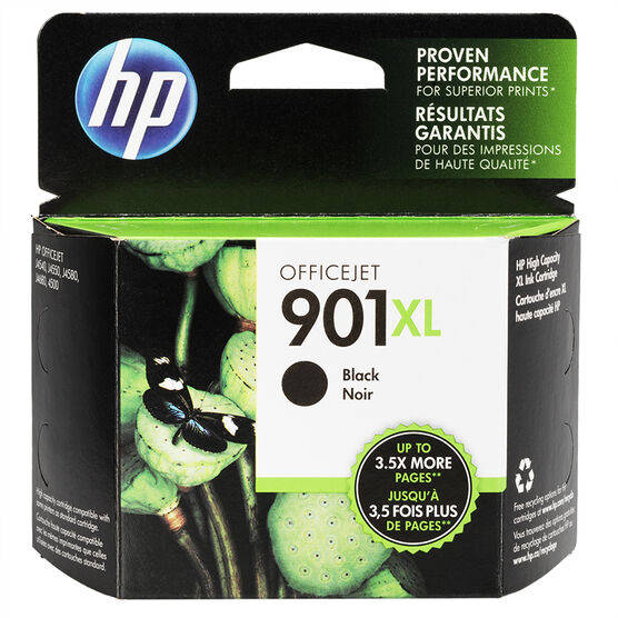 HP 901XL Ink Cartridge - Black - CC654AN#140