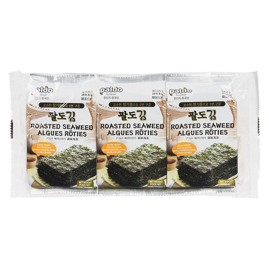 Paldo Roasted Seaweed - 24's - 3 x 5g