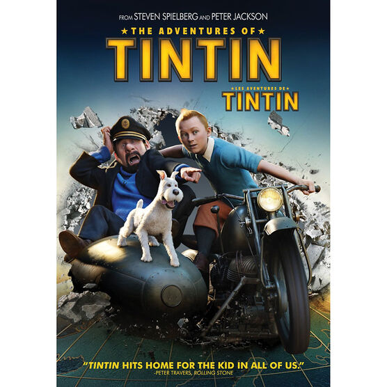The Adventures Of Tintin - DVD