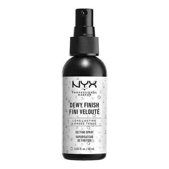 NYX Professional Makeup Dewy Finish Makeup Setting Spray
