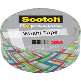 3M Scotch Expressions Washi Tape - Big Zig