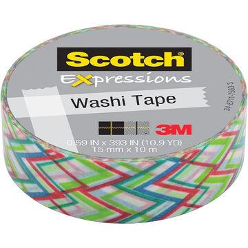 3M Scotch Expressions Washi Tape - Big Zig