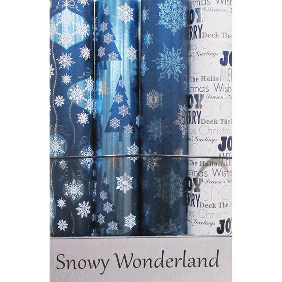 Snowy Wonderland Gift Wrap - Assorted