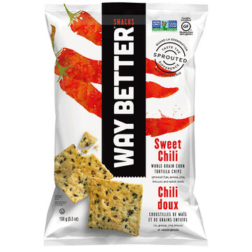 Way Better Snacks Tortilla Chips - Sweet Chili - 156g