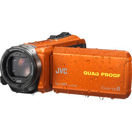 JVC GZ-R440DU Quad Proof Everio Full HD Camcorder - Orange - GZ-R440DU