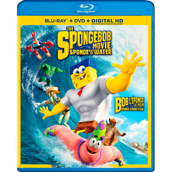 The SpongeBob Movie: Sponge out of Water - Blu-ray
