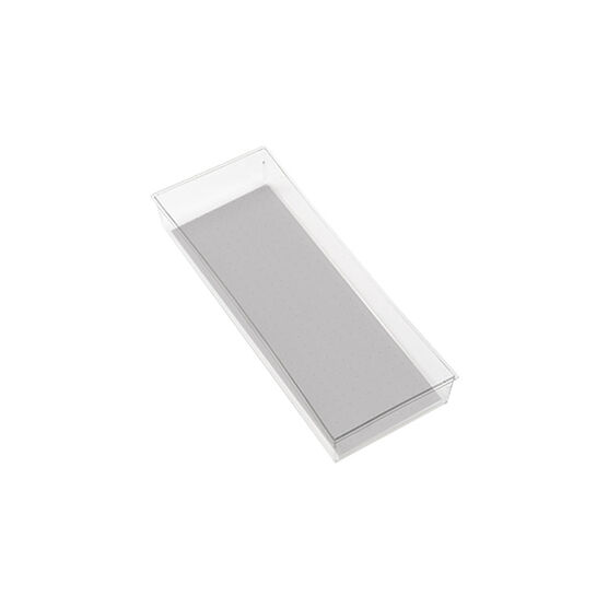 MadeSmart Rectangular Bin - Clear - 16 x 6inch