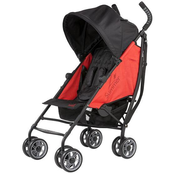Summer Infant 3D Flip Convenience Stroller - Rerun Red - 32043