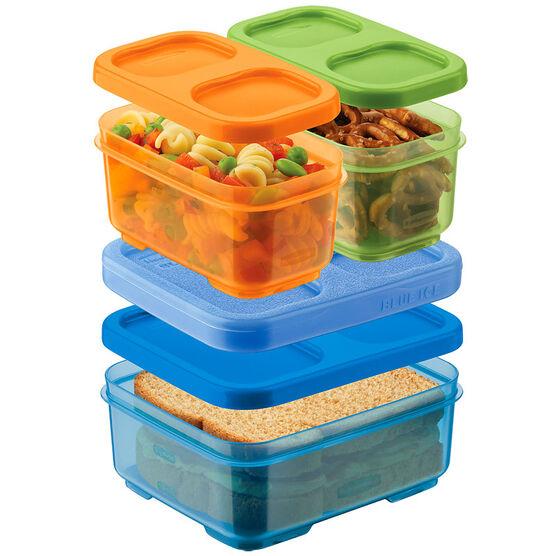 Rubbermaid Tall Lunchblox™ Kids - Orange/Green/Blue