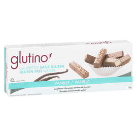 Glutino Gluten Free Wafer Cookie - Vanilla - 130g