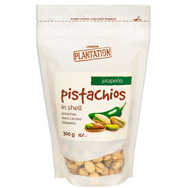 London Plantation Pistachios - Jalapeno - 300g