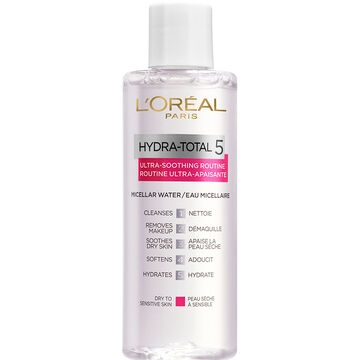 L'Oreal Hydra-Total 5 Ultra-Smoothing Routine Micellar Water - 200ml