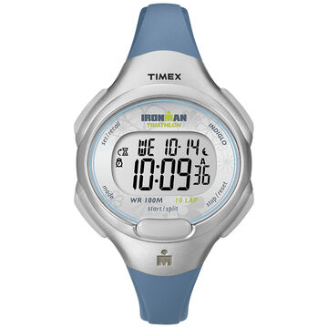 Timex Ironman Mid-Size Watch - Blue/Silver - T5K604GP
